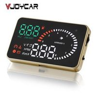 "VJOYCAR X6 3"" Hud Head Up Display OBD2 Vehicle Speedometer Over Speed Alarm"