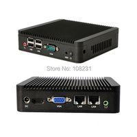 qotom 2016 desktop computer Core I3-3217U 12V DC 1080P Industrial with RS232 Wintel