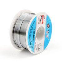 Areyourshop 0.5mm 100g 60/40 Rosin Core Tin Lead Solder Wire Welding Flux 2.0% Iron