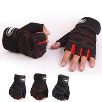 Men Body Building Fitness Gym Gloves long Belt Barbell Dumbbell Crossfit Weight Lifting Gloves Musculation Tactical Gloves women