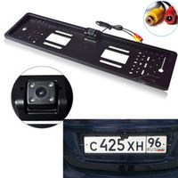 Light heart Waterproof European License Plate Frame Rear View Camera Auto Car