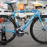 2018 fasterway factor O2 Blue with white decals carbon road frame:carbon Frame