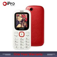 IPRO 1.8 Inch Unlocked Mobile Phones GSM SC6531DA Bluetooth Cell Phone Dual Card Slot