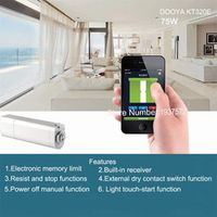 Dooya Home Automation Electric Curtain Motor KT320E 75W WIFI 220V/50Hz IOS/Android No