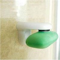 u-hoMEy 1PCS Convenient Magnetic Soap Holder Prevent Rust Dispenser Adhesion Home