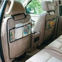 KAKUDER 1PC Car Auto Seat Back Protector Cover For Children Kick Mat Storage Bag BB