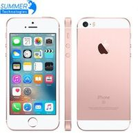 Unlocked Apple iPhone SE Mobile Phone A9 iOS 9 Dual Core 4G LTE 2GB RAM 16/64GB ROM