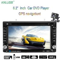 kklusb 2 Din Stereo 6.2 inch Touch Screen Auto Radio MP5 Playe GPS Navigation