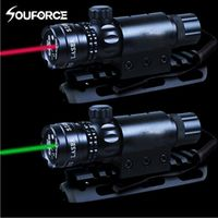 souforce Red/Green Laser Sight Remote Switch Suit 25.4mm Ring Scope Mount For Hunting