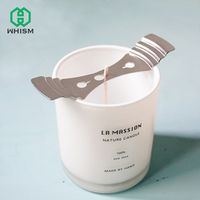 WHISM Clip DIY Holder Candle Fixed Stainless Steel Iron
