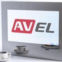 """AVEL 21.5"""" Cabinet Door TV for Kitchen Digital tuner DVB-T/T2 Freeview AVS220K."""