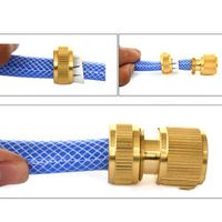 Tube Brass Hose Trash Pump Tap Connector Fitting Adaptor