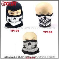 XCDR Skull Face Mask Skeleton Ski Motorcycle Biker Sports Scarf Warmer