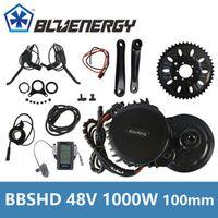 Bafang 8Fun BBSHD BBS03 Central Mid Drive Motor 48V 1000W 46T Chainwheel Ebike Kits