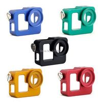 Go pro Protective Case hero 3 3+ CNC Aluminum Alloy Protective Case Mount With 37MM UV Len For Gopro hero 3 3+ Accessories