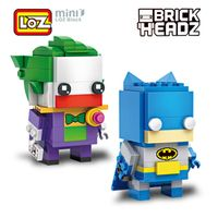 LOZ Batman Joker Super Hero 2in1 Mini 245pcs