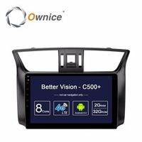 Ownice HD 1024 10.1 inch Android 6.0 Car DVD Player For Nissan Sylphy GPS Navigation