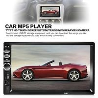 TekBow Video 7 Inch Stereo MP5 Player Audio Car Radio FM Bluetooth USB Support