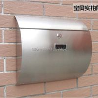 Stainless steel arc cottage mail rain-proof rust-proof
