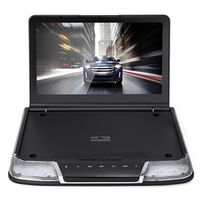 Rectangle 11.6 Inch Car Roof Mount DVD Player System with USB IR FM Transmitter HDMI