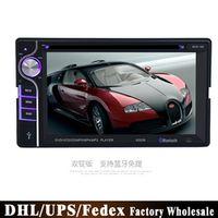 KONNWEI DHL Fedex 10 Sets Tft Screen 2 DIN 6.2 inch Video Car Radios Stereo DVD