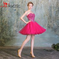 LIYATT 2016 Sweetheart Mini Ball Homecoming Dresses Gown