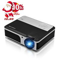 CAIWEI 3800 lumens LCD LED Video Projector HDMI TV USB Direct Read Home Theater