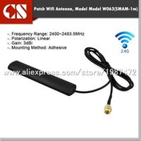 Smmnas 2.4G wifi receiver Bluetooth remote control aerial antenna with SMA male inner
