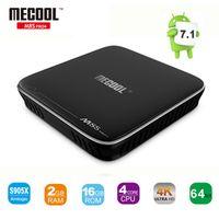 MECOOL M8S PRO TV Box Amlogic S905X Quad Core Android 7.1 2GB/16GB 2.4G 5G WiFi H.265