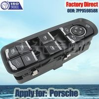Factory Direct Electric Auto Power Window Master Control Switch Apply for Porsche