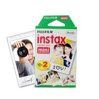 20 Sheets Fujifilm Instax Mini for Instant Camera mini 8 7s 25 50s 90 White Edge