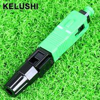 KELUSHI 100pcs SC A P C fast fiber optic / used cable quick connector