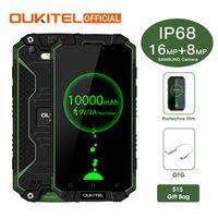Oukitel K10000 Max IP68 Waterproof Dustproof Shockproof MTK6753 3G RAM 32G ROM