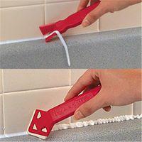 Balight 2 Pieces / set Mini Handmade Tools Scraper Utility Practical Floor Tile