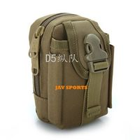 D5 Column 1000D Nylon Tactical Accessories EDC Camouflage pouch 7Colors SKU12050297