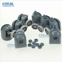 [YSL-DL]Free Shipping 8PCS* Shower Rooms Cabins Pulley & Shower Room Roller Runners Single Wheels