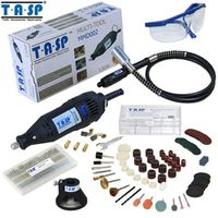 TASP 220V 130W Rotary Set Electric Mini Drill Engraver with Flexible Shaft