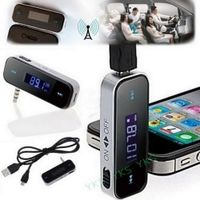 HSC YKS Car MP3 Player 3.5mm In-car FM Transmitter For iPhone 6 5 5S 5C/iPod