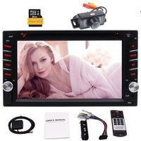EinCar 2 Din Stereo Car Dvd Player Gps Navigation Autoradio CD Car Radio FM AM RDS