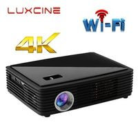 WZATCO Z4000 Android bluetooth WiFi AirPlay Miracast 2205P Portable LED home theater