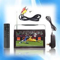 Greatpeak 9'' Portable Digital Terrestrial Receiver MINI MPEG4 H.264 DVB-T2 Interface