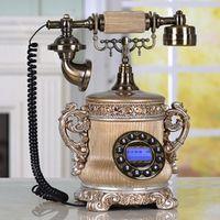 Modern popular bronze color old luxury vintage telephone/Backlight/Hands Free/Caller ID