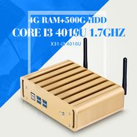 Tablet I3 4010u 4g RAM 500g HDD Desktop Computer Mini PC Industrial Thin Client