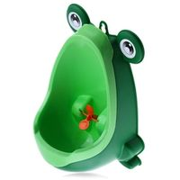 Children Toilet Training Closet Baby Boy Child Frog Standing Urinals Separation Strong Sucker Infant Toddler Wall-Mounted Urinal