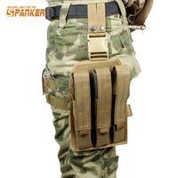 Annabelle Hanke Platform Drop Leg Thigh Rig Holster KRISS Super V Submachine Gun MP7
