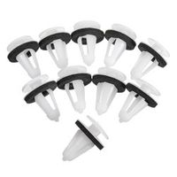 Auzan 10PCs Car Body Side Door Trim Card Fastener Retainers Panel Clamp Clips