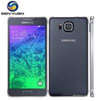 G850 Unlocked Samsung Galaxy Alpha G850F Core 2GB Ram 32GB ROM 4.7 Inch TouchScreen