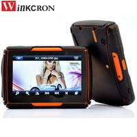 "Winkcron GPS Navigation 4.3"" BEST Motorcycle IPX7 Waterproof GPS Bluetooth FM AVIN"