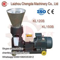 KL150B/C electric motor biomass wood sawdust pellet mill