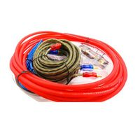 PolarLander Selling1500W AMP Fuse Holder Wire Cable Kit 8GA Car Audio Subwoofer